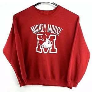 Mickey Mouse sweatshirt XL mens (unisex) red